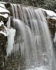 Heavy rains & run-off created a new cascade on Muddy Creek Falls