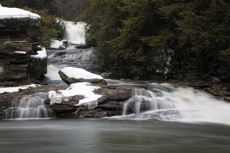 Muddy Creek Falls at Swallow Falls State Park