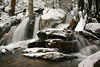 Recent heavy rains & snow melt created falls where falls didn't previously exist.