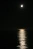 Moonrise over the ocean