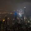 Hong Kong Island and Kowloon by Night
