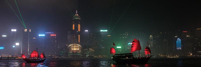Victoria Harbour Light Show