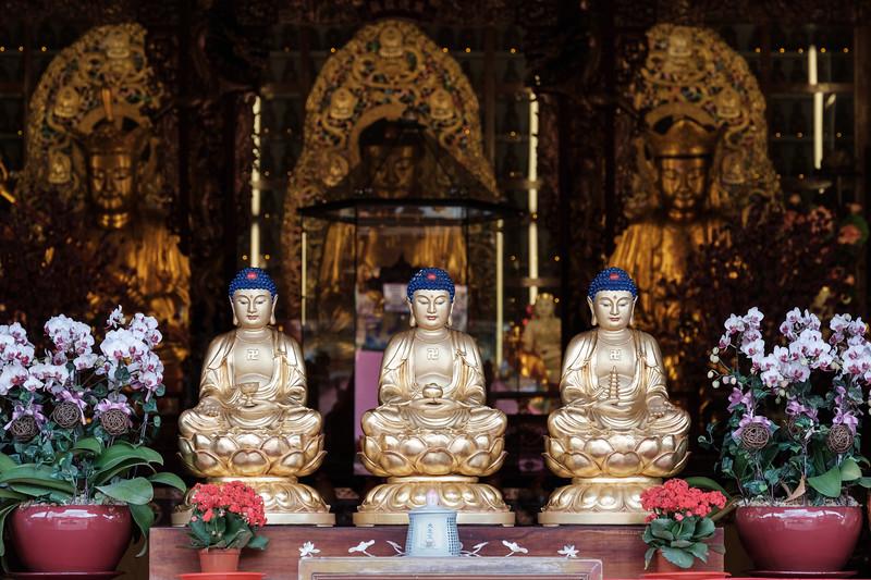 Shrine of Three Buddhas