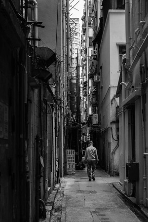 Alley in Kowloon