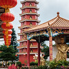 Pagoda at the 10000 Buddha Monastery