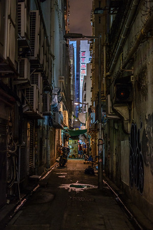 Kowloon Alley by Night
