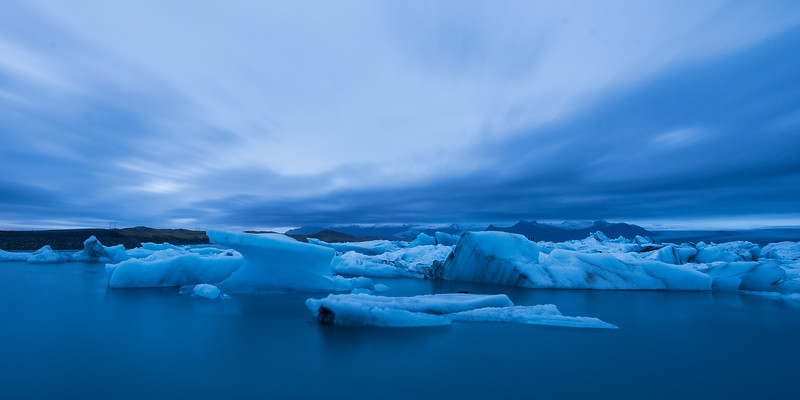 Blue Hour at Jökulsárlón