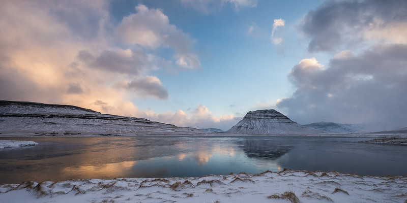 Morning Reflection at Kirkjufell