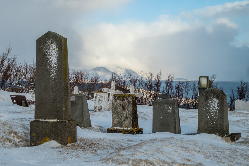 Graveyard at Hellnar