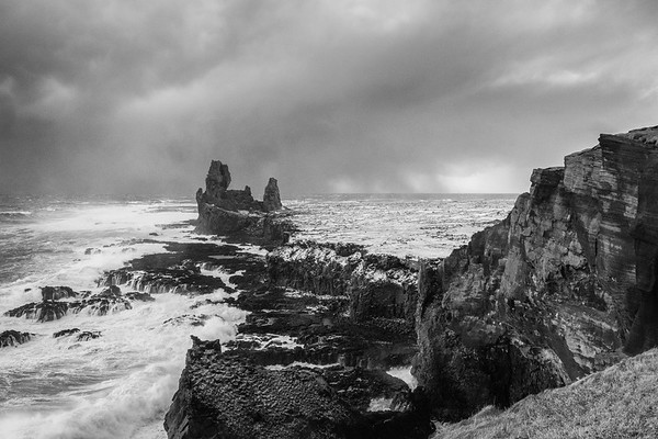 Sea Stacks at Londrangar