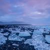 The Ice Beach at Dawn