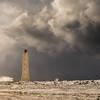 Breaking Waves at Longdrangar Lighthouse