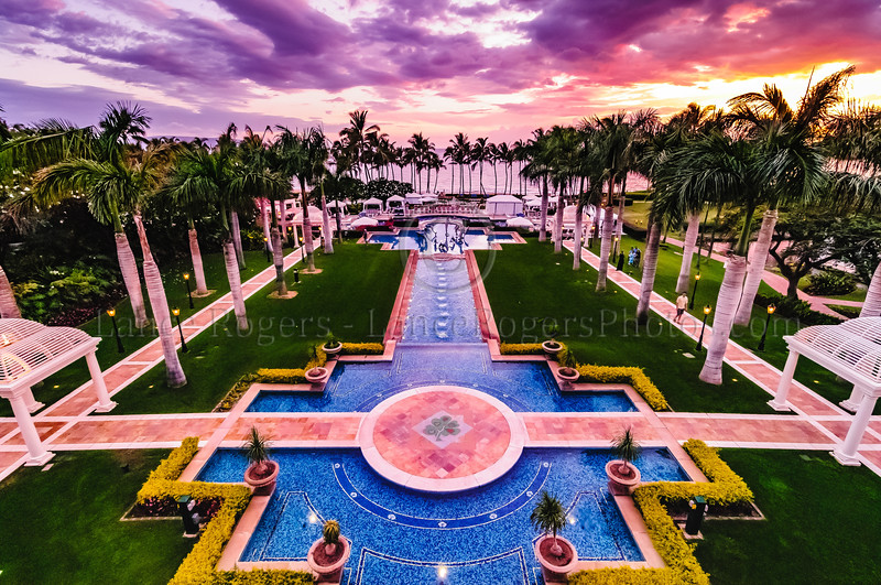 Sunset at Grand Wailea Maui