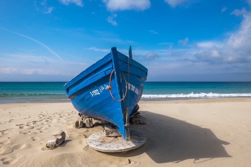 Fishing Boat, Dalia Beach