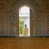 Inside the Mohammed V Mausoleum, Rabat