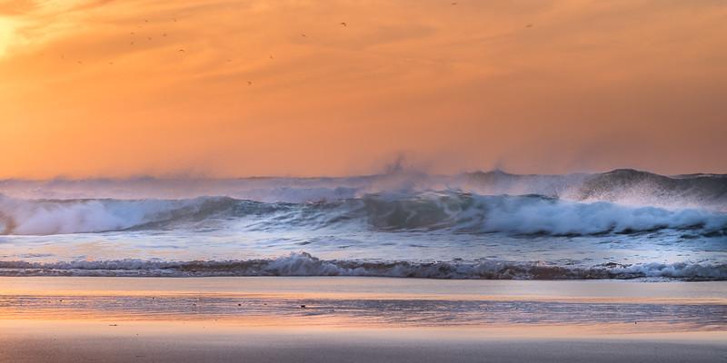 Sunset At Achakar Beach