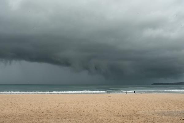 Incoming Rain Front, Tangier Bay