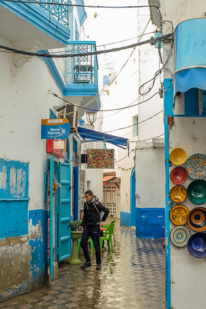 Wet Day in Asilah