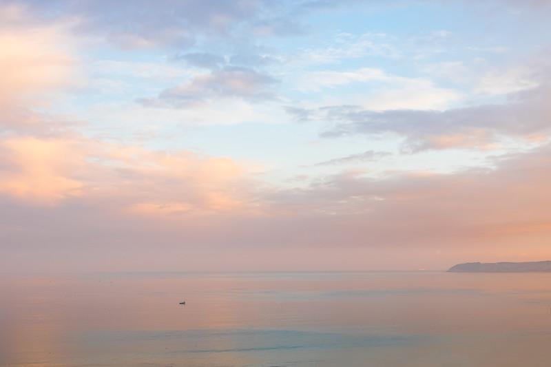 Winter Sunrise, Tangier Bay