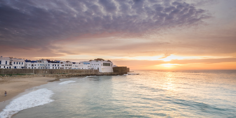 Winter Sunset at Asilah