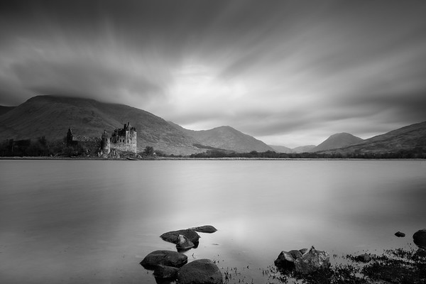 Loch Awe and Kilcharn Castle