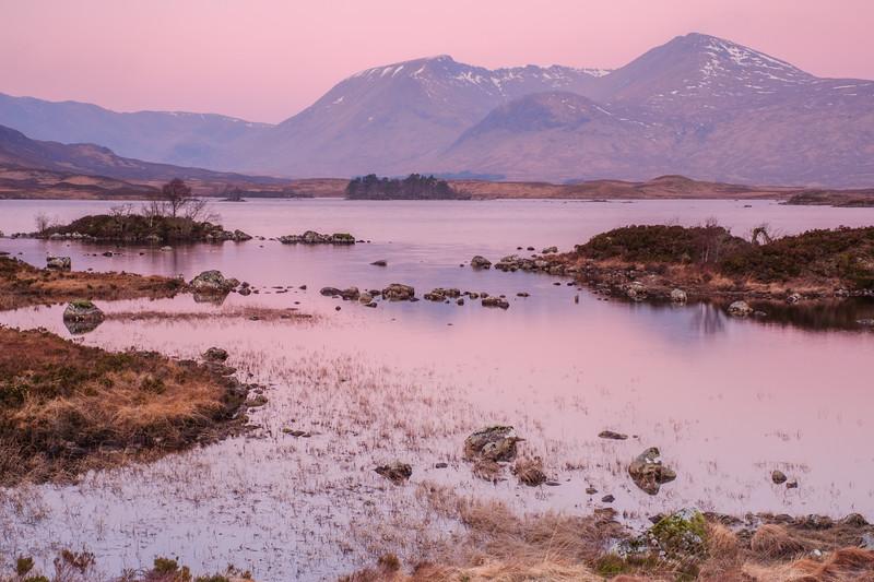 Sunrise Reflection, Loch Ba