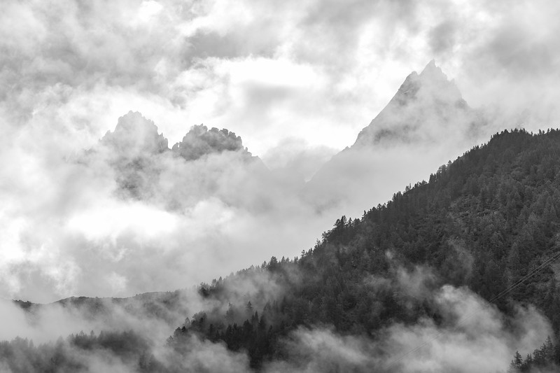 Mist and Mountains