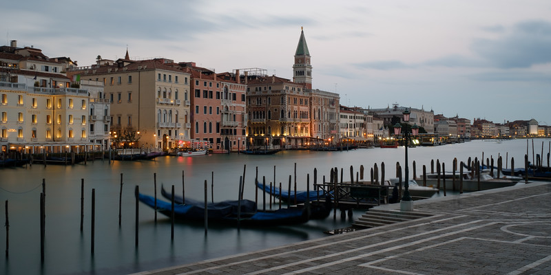 The Grand Canal at Twilight