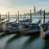 Gondolas at Sunrise