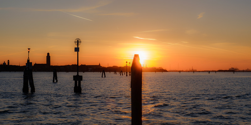 Sunset from Murano