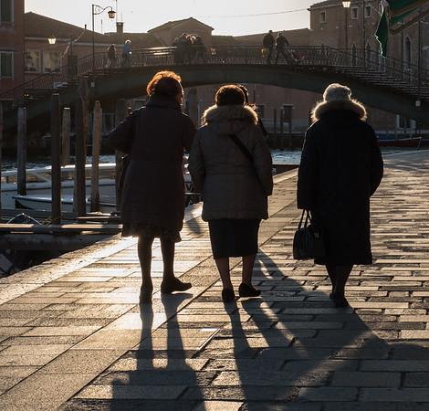Evening Stroll, Murano