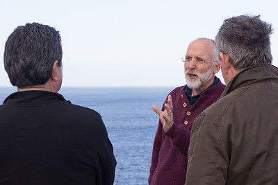 In Discussion on the Cliff Top