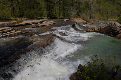 Six Fingers Falls - Falling Waters Creek - Ozark National Forest