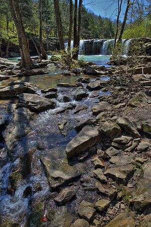 Falling Waters Falls - Falling Waters Creek - Ozark National Forest