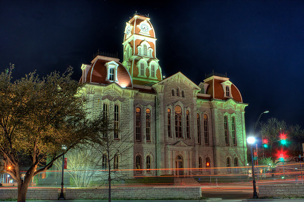 Parker County Courthouse - Weatherford, Texas