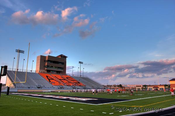 Bearcat Stadium at Aledo High School