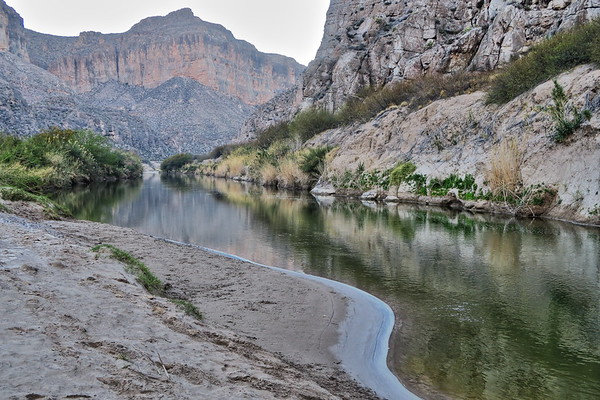 Morning Light on the Rio Grande - Big Bend National Park - Texas