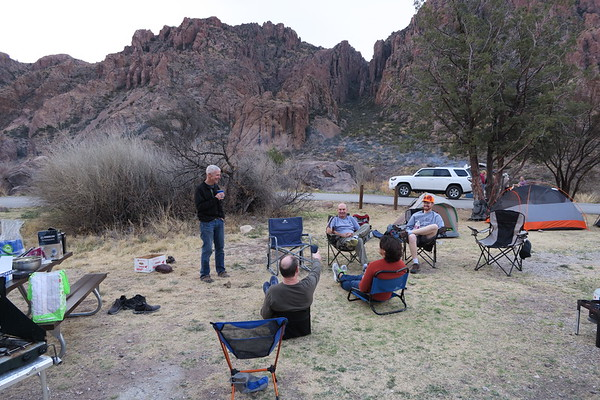 Chisos Basin Campground