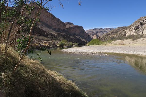 Rio Grand River - Big Bend National Park - Texas