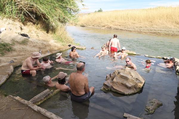 Hot Springs along the Rio Grande River - Texas / Mexico Border - Big Bend National Park