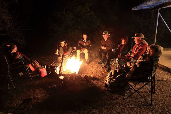 Sharing a campfire with friends needs to be on everyone's bucket list.