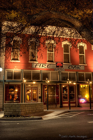 The Fire Oak Grill is a great place for a steak!