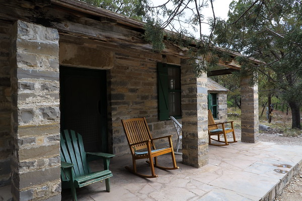 Nice place to take a rest.  Pratt Cabin - Built in the 1930's by geologist Wallace Pratt and later donated to the National Park Service.