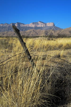 El Capitan - Guadalupe Mountains National Park, Texas -- This is one of my favorite shots from the trip.