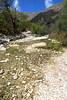 Actual water flowing....