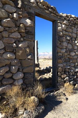 A Door to the Past in west Texas