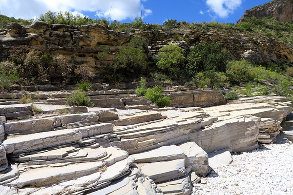 Layers of geologic time - McKittrick Canyon
