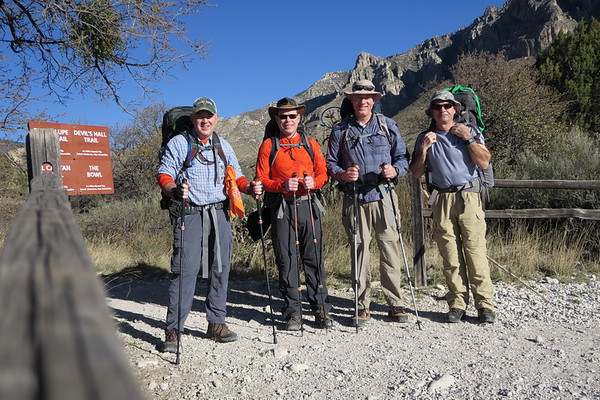 Time to go.  Guadalupe Mountains National Park, Texas