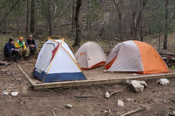 Campsite is ready.  #REI