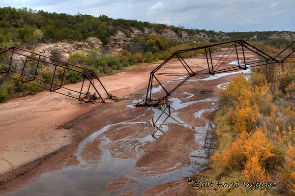 Salt Fork of the Brazos River - Stonewall County, Texas.  This is the namesake for my photography business:  Salt Fork Images